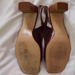 Coach Shoes - Coach Nora Square Heels